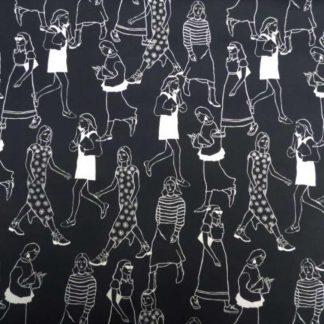 Lifestyling cotton lawn fabric