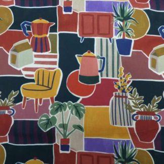 Parker cotton lawn fabric