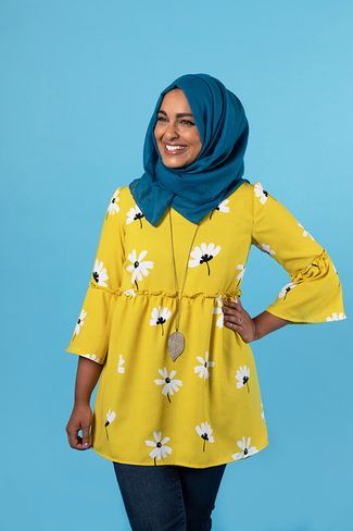 Indigo top and dress sewing pattern