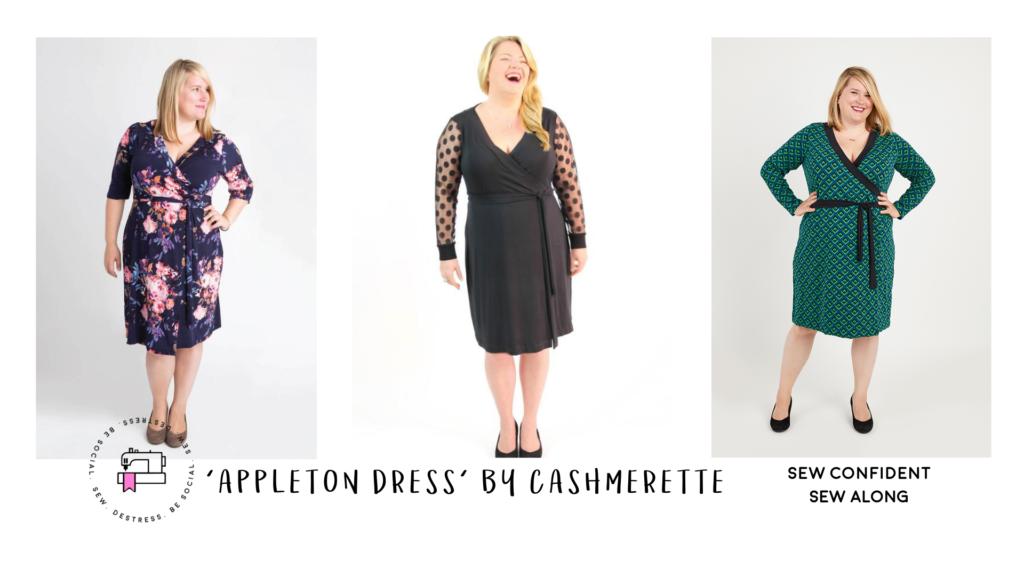 online sew along - appleton dress sewing pattern