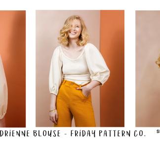 Adrienne blouse sew along