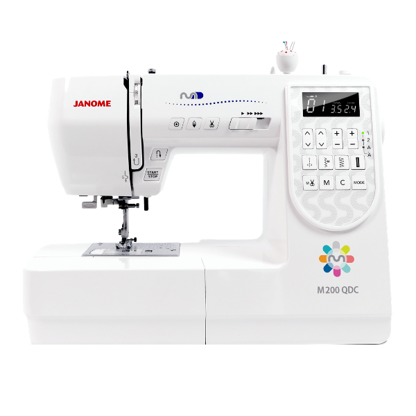 m200qdc janome sewing machine sew confident free postage